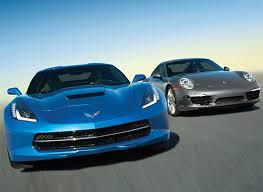 porsche 911 vs corvette 2014 porsche 911 vs chevrolet corvette review consumer reports