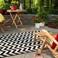 outdoor rugs for patios design home design by fuller image of black and white chevron outdoor rugs for patios
