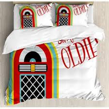 music themed queen comforter music themed bedding wayfair