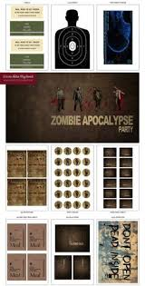 walking dead party supplies the walking dead party decorations party table