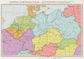 germany europe map hypothetical map of central europe if all of germany were to be