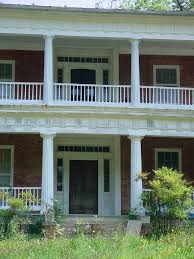interior wonderful front porch decoration with round white front