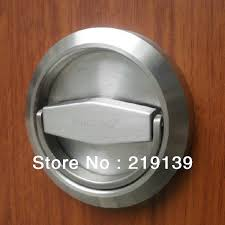 Recessed Closet Door Pulls Stainless Steel Furniture Cabinet Recessed Cup Door Handle Drawer