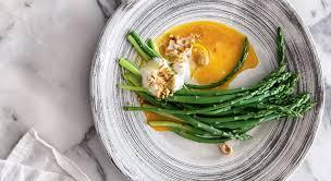cuisine asperges vertes recette asperges vertes rôties beurre de clémentines