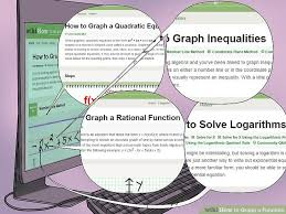 3 ways to graph a function wikihow