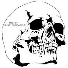 airbrush skull stencils free skull stencil