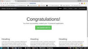 membuat web yii 5 yii2 tutorial indonesia cara membuat crud dengan menggunakan
