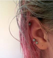 earrings on top of ear amazing top ear piercing for girl ear photo images photos pictures