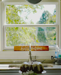Fall Kitchen Decor - fall decor in the kitchen mirabelle creations