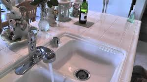 Price Pfister Marielle Kitchen Faucet Pfister F Wkp 70 Kitchen Faucet Youtube