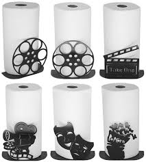 themed paper towel holder theatrical themed paper towel holders home theater mart
