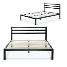 Bed Frames Sleepys Foundation Bed Frame Modern Studio Inch Platform Metal Bed Frame