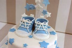 baby shower cakes for boy boy s baby shower cake with cupcakes bakealous