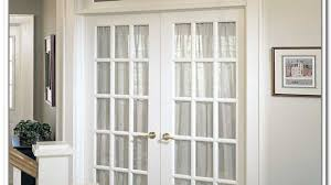 Exterior Single French Door by Soffit Lighting Exterior Exterior Idaes
