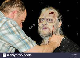 special effects make up a special effects makeup artist applies prosthetics and