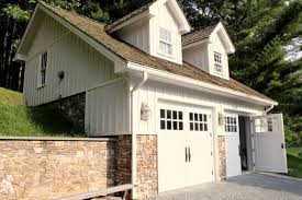 hillside garage plans build into hillside could do small machines in top and cars on