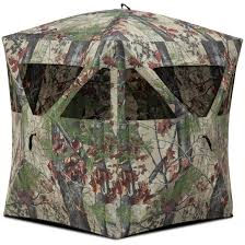 barronett radar hunting blind bloodtrail backwoods camo 667315