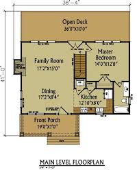 cottage house floor plans small cabin floor plan by max fulbright designs