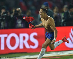 alexis sanchez daughter copa america 2015 final report chile 0 0 argentina aet chile win 4