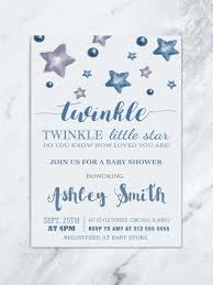 twinkle twinkle baby shower invitations twinkle twinkle baby shower invite twinkle twinkle