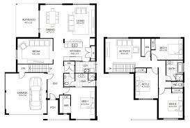 4 Bedroom Two Storey House Plans House Plan Two Storey House Plans With Balcony Double Plan Designs