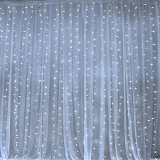 20 Ft Curtains 600 Led Lights Big Wedding Photography Organza Curtain
