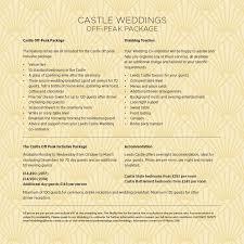 Wedding Packages Prices Leeds Castle Wedding Venues In Kent