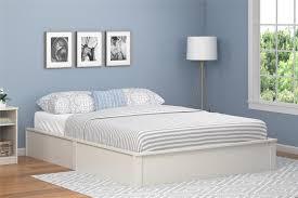 Ameriwood Bedroom Furniture by Ameriwood Furniture Austin Queen Platform Bed Frame Vintage White