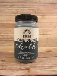 Folk Art Home Decor Chalk Classic Home Cottage Decor Chalk Paint 16 Oz Castle How To Paint