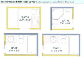Bathroom Layout Design Small Bathroom Floor Plans Bath And Shower Best Layout Design