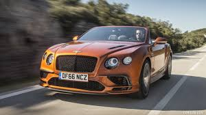 bentley continental wallpaper 2018 bentley continental gt supersports convertible color orange