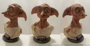 harry potter dobby statue clothed u2014 weasyl