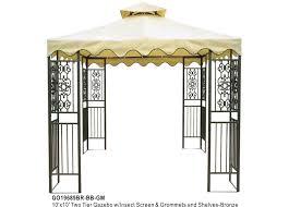 Lowes Gazebos Patio Furniture - metal gazebo pergola kits lowes metal gazebo kits pinterest