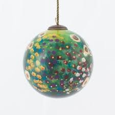 vincent gogh starry painted glass ornament free