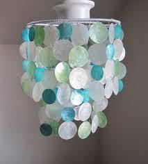 Round Capiz Chandelier Lighting Capiz Chandelier What Is Capiz Shell Diy Paper