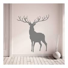 stag wall sticker wall art wallpaper cuckooland richmond park deer fenton wall sticker set jpg