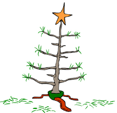 clipart charlie brown christmas tree clipground