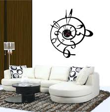 wall clock decorative large clocks awesome oversized black with