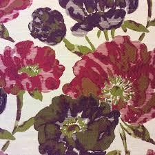 tapestry lauren watercolor floral fuschia garden upholstery home