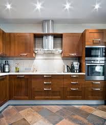 Oak Kitchens Designs Astonishing Modern Wood Cabinets Photos Best Idea Home Design