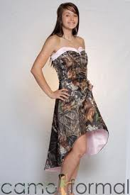 camo wedding dresses short in front long in back overlay wedding