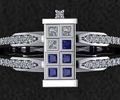 doctor who engagement ring doctor who tardis engagement ring