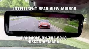 nissan armada v8 specs 2018 nissan armada intelligent rear view mirror i rvm youtube
