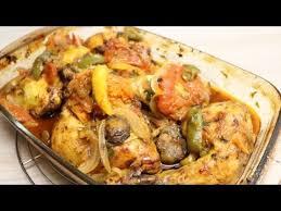 bonne cuisine rapide cuisse de poulet rôti aux légumes facile cuisinerapide