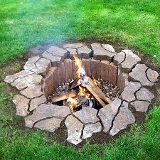 Firepit Stones How To Be Creative With Pit Designs Backyard Diy