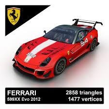 599xx evo price 599xx 3d models for turbosquid