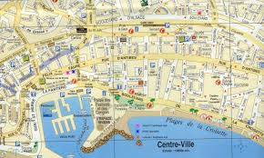 France Cities Map by Of Cannes France