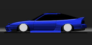 pixel art car pixel car art u003e nissan 180sx