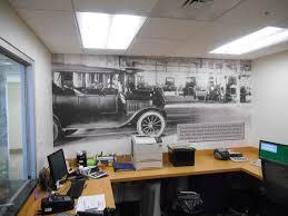 fh lobby wall mural wrapthatcar holman ford office mural