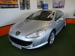 peugeot 407 coupe interior used peugeot 407 sport for sale motors co uk